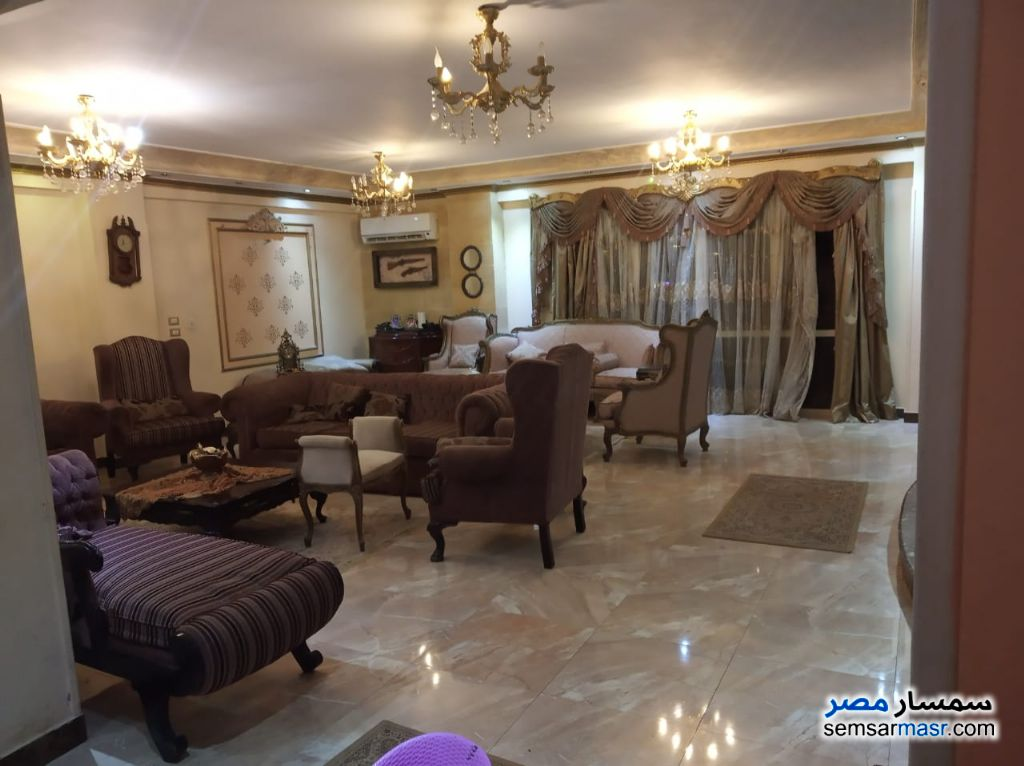Photo 8 - Apartment 4 bedrooms 2 baths 285 sqm extra super lux For Sale El Motamayez District 6th of October