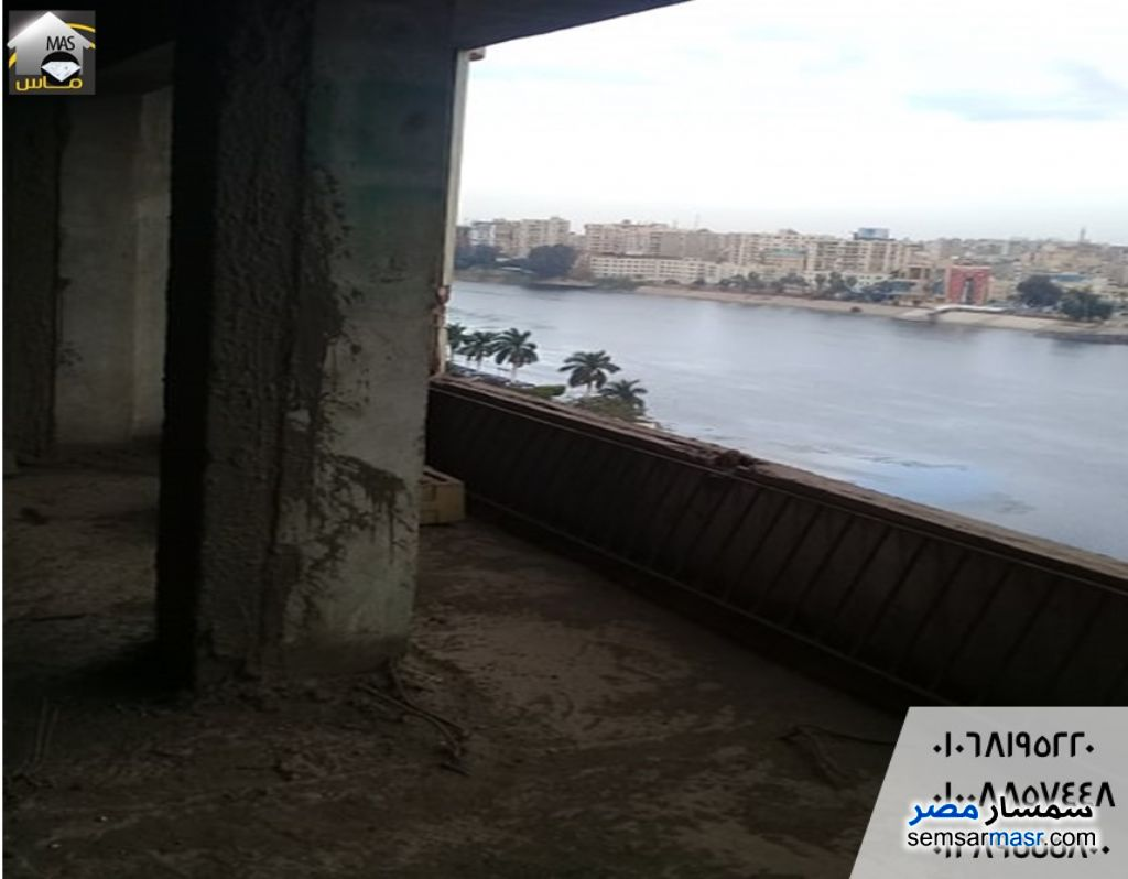 Photo 2 - Apartment 3 bedrooms 1 bath 200 sqm semi finished For Sale Talkha Daqahliyah