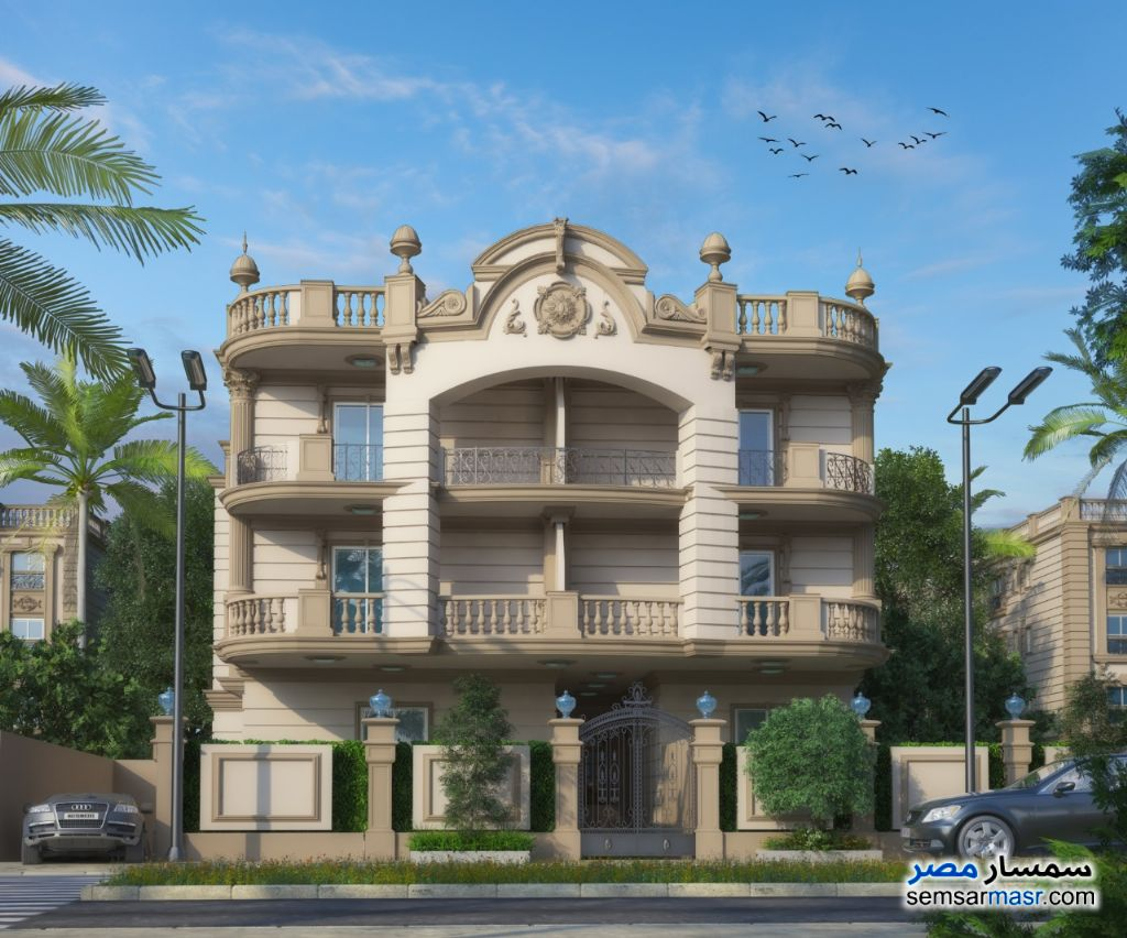 Photo 1 - Apartment 3 bedrooms 3 baths 195 sqm semi finished For Sale Shorouk City Cairo