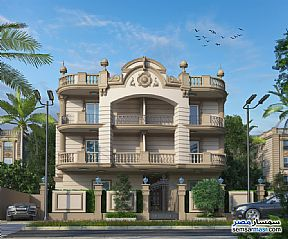 Apartment 3 bedrooms 3 baths 195 sqm semi finished For Sale Shorouk City Cairo - 1