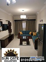 Ad Photo: Apartment 1 bedroom 1 bath 68 sqm extra super lux in Hurghada  Red Sea