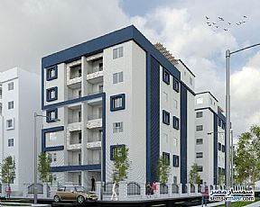 Ad Photo: Apartment 2 bedrooms 1 bath 90 sqm semi finished in October Gardens  6th of October