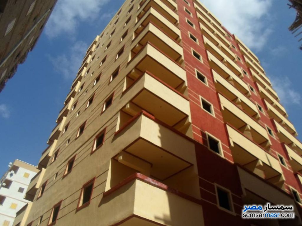 Photo 1 - Apartment 2 bedrooms 1 bath 80 sqm without finish For Sale Agami Alexandira