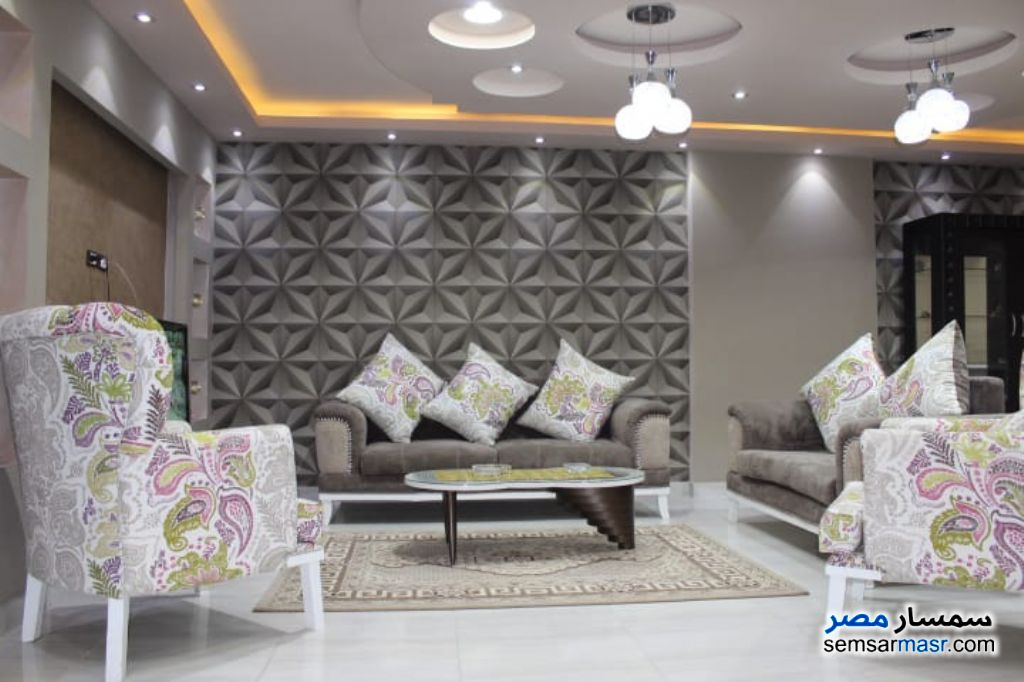 Photo 5 - Apartment 3 bedrooms 3 baths 200 sqm extra super lux For Rent Nasr City Cairo