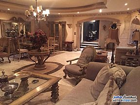 Apartment 2 bedrooms 1 bath 125 sqm super lux For Rent Mohandessin Giza - 11