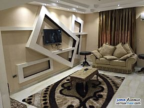 Apartment 3 bedrooms 2 baths 150 sqm super lux For Rent Mohandessin Giza - 2