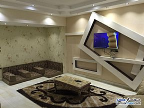 Apartment 3 bedrooms 2 baths 150 sqm super lux For Rent Mohandessin Giza - 8
