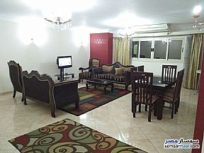 Apartment 2 bedrooms 1 bath 150 sqm super lux For Rent Mohandessin Giza - 5