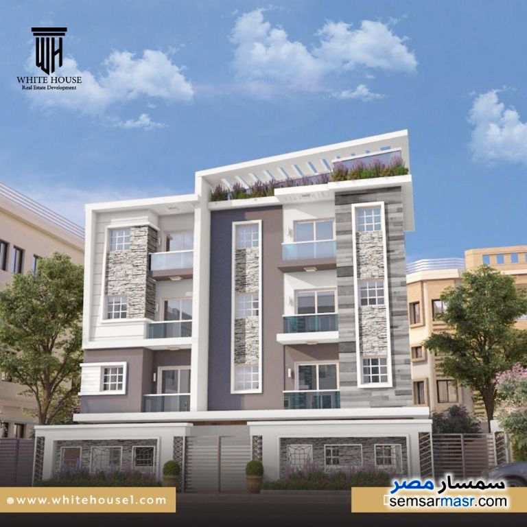 Photo 1 - Apartment 3 bedrooms 2 baths 168 sqm semi finished For Sale Fifth Settlement Cairo