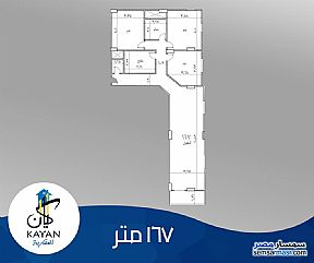 Ad Photo: Apartment 3 bedrooms 2 baths 167 sqm semi finished in Hadayek Al Ahram  Giza