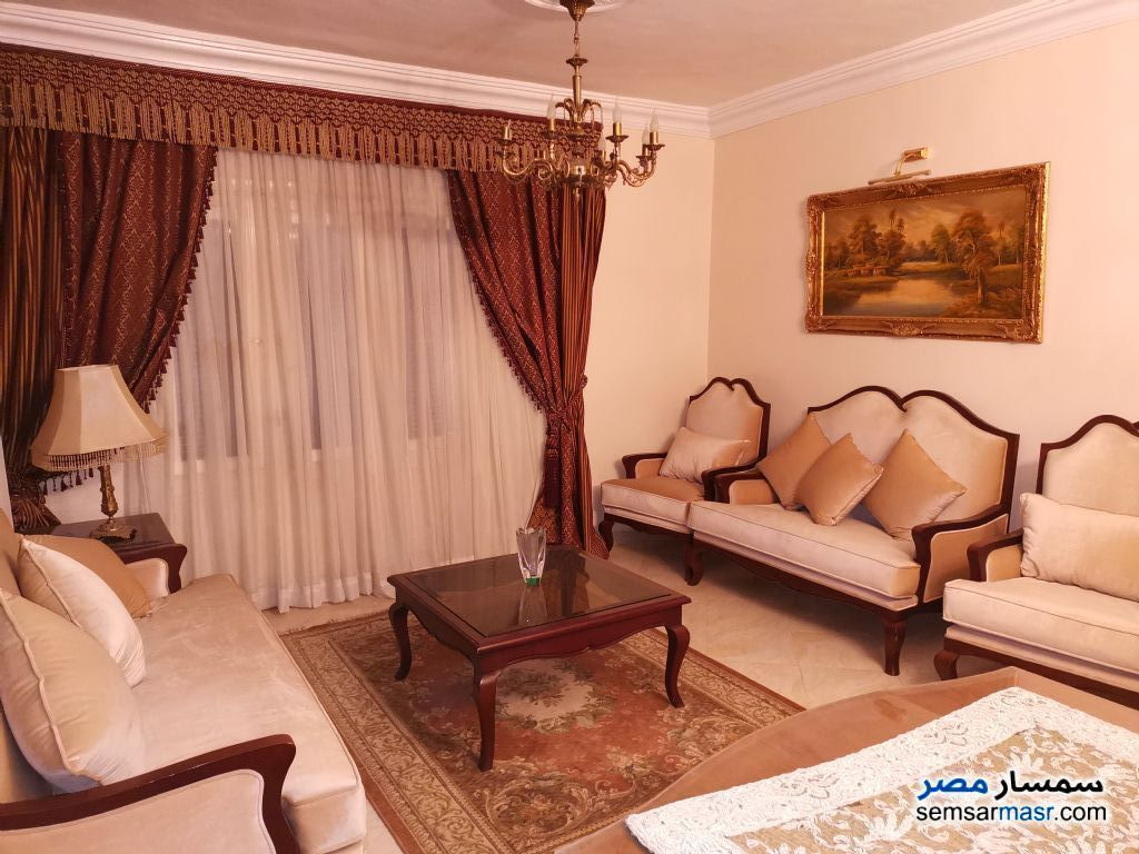 Ad Photo: Apartment 3 bedrooms 1 bath 136 sqm super lux in Al Salam City  Cairo
