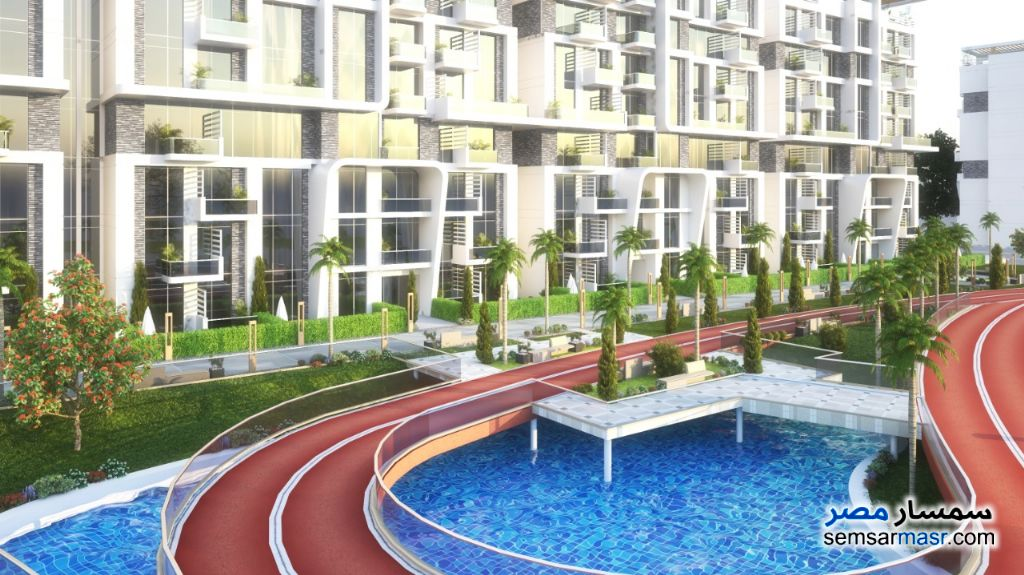 Ad Photo: Apartment 3 bedrooms 3 baths 161 sqm extra super lux in New Capital  Cairo