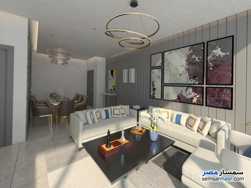 Photo 30 - Apartment 3 bedrooms 3 baths 161 sqm extra super lux For Sale New Capital Cairo