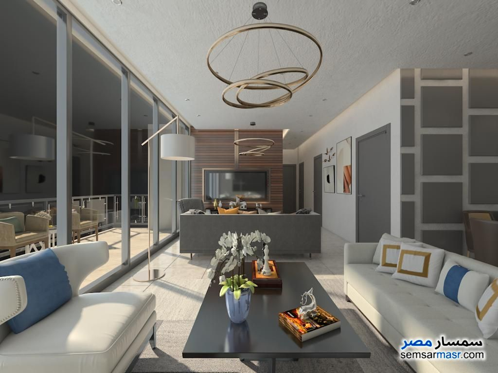 Photo 33 - Apartment 3 bedrooms 3 baths 161 sqm extra super lux For Sale New Capital Cairo