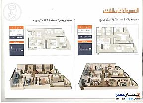 Ad Photo: Apartment 3 bedrooms 2 baths 172 sqm semi finished in Shibin El Kom  Minufiyah