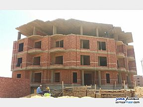 Ad Photo: Apartment 3 bedrooms 2 baths 198 sqm semi finished in North Extensions  6th of October