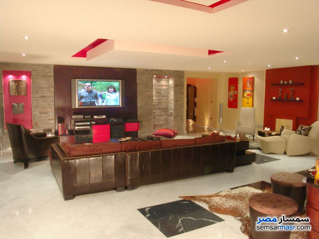 Photo 13 - Apartment 4 bedrooms 3 baths 345 sqm super lux For Sale Maadi Cairo