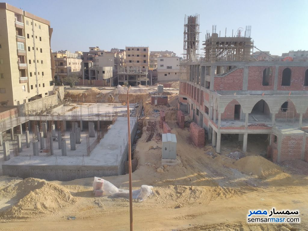 Photo 4 - Apartment 2 bedrooms 1 bath 65 sqm semi finished For Sale Shorouk City Cairo