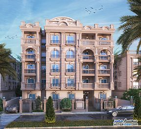 Ad Photo: Apartment 2 bedrooms 1 bath 92 sqm semi finished in New Heliopolis  Cairo