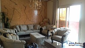 Ad Photo: Apartment 2 bedrooms 1 bath 140 sqm super lux in New Nozha  Cairo
