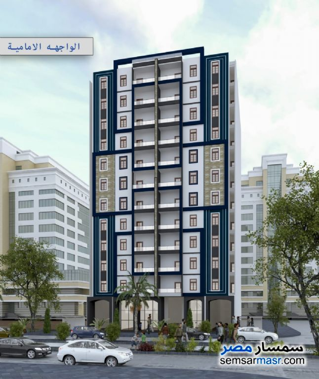 Ad Photo: Apartment 2 bedrooms 1 bath 110 sqm semi finished in Egypt