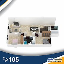 Ad Photo: Apartment 3 bedrooms 2 baths 132 sqm semi finished in Hadayek Al Ahram  Giza