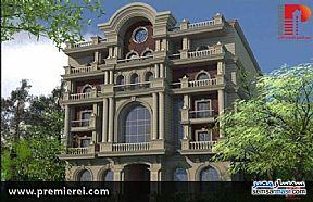 Ad Photo: Apartment 3 bedrooms 3 baths 268 sqm semi finished in Fifth Settlement  Cairo