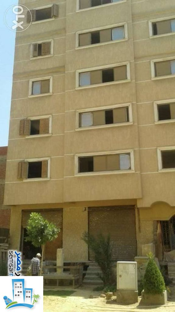 Building 440 sqm semi finished For Sale Al Fardous City 6th of October - 3