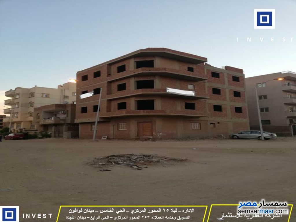Photo 1 - Building 355 sqm without finish For Sale Districts 6th of October