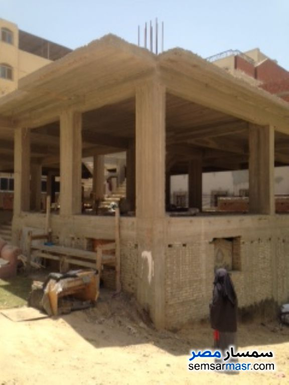 Ad Photo: Building 533 sqm without finish in El Bostan  6th of October