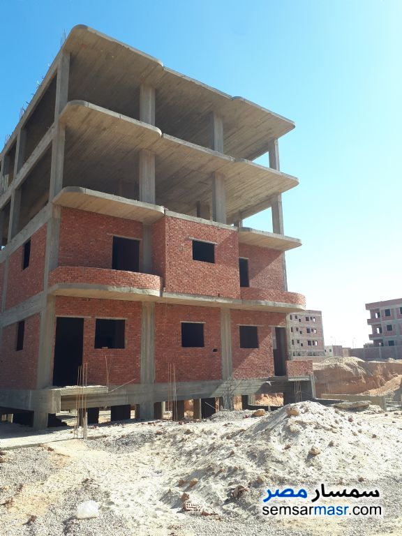Ad Photo: Building 414 sqm without finish in October Gardens  6th of October