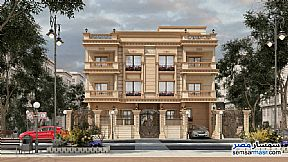 Ad Photo: Apartment 3 bedrooms 2 baths 225 sqm semi finished in Shorouk City  Cairo