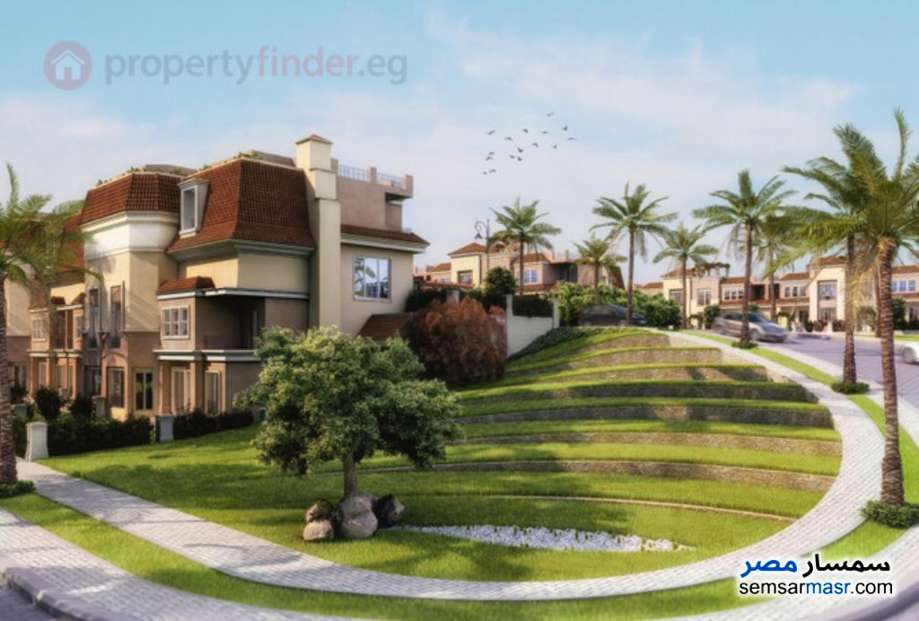 Photo 9 - Villa 4 bedrooms 3 baths 260 sqm semi finished For Sale Fifth Settlement Cairo