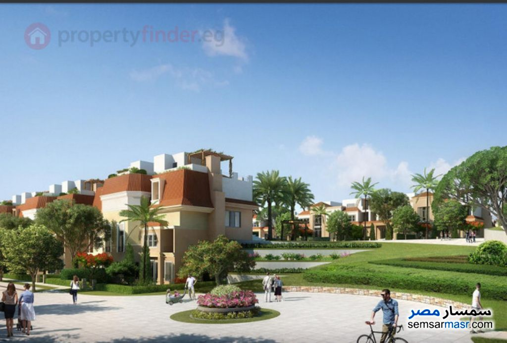 Photo 6 - Villa 4 bedrooms 3 baths 260 sqm semi finished For Sale Fifth Settlement Cairo