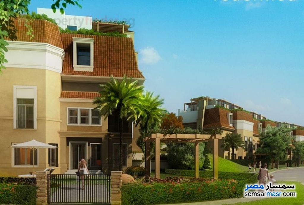 Photo 4 - Villa 4 bedrooms 3 baths 260 sqm semi finished For Sale Fifth Settlement Cairo