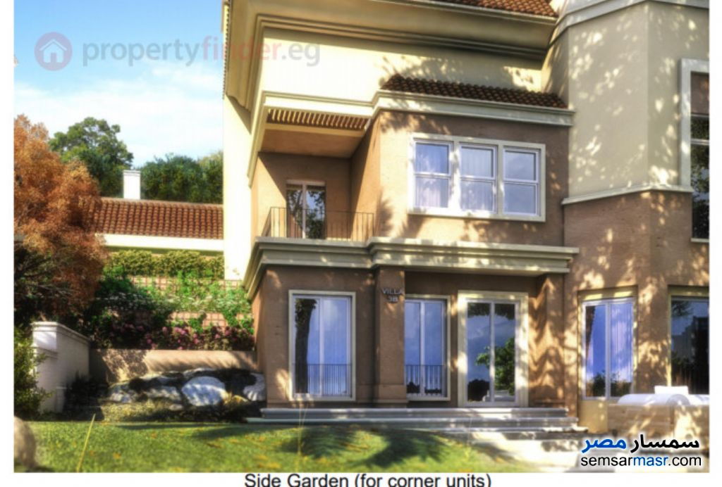Photo 8 - Villa 4 bedrooms 3 baths 260 sqm semi finished For Sale Fifth Settlement Cairo