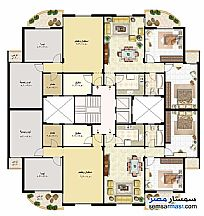 Ad Photo: Apartment 2 bedrooms 1 bath 99 sqm super lux in Rehab City  Cairo