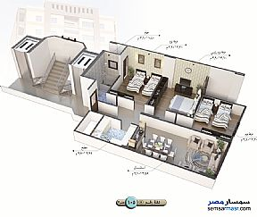 Apartment 3 bedrooms 1 bath 140 sqm semi finished For Sale Talkha Daqahliyah - 14
