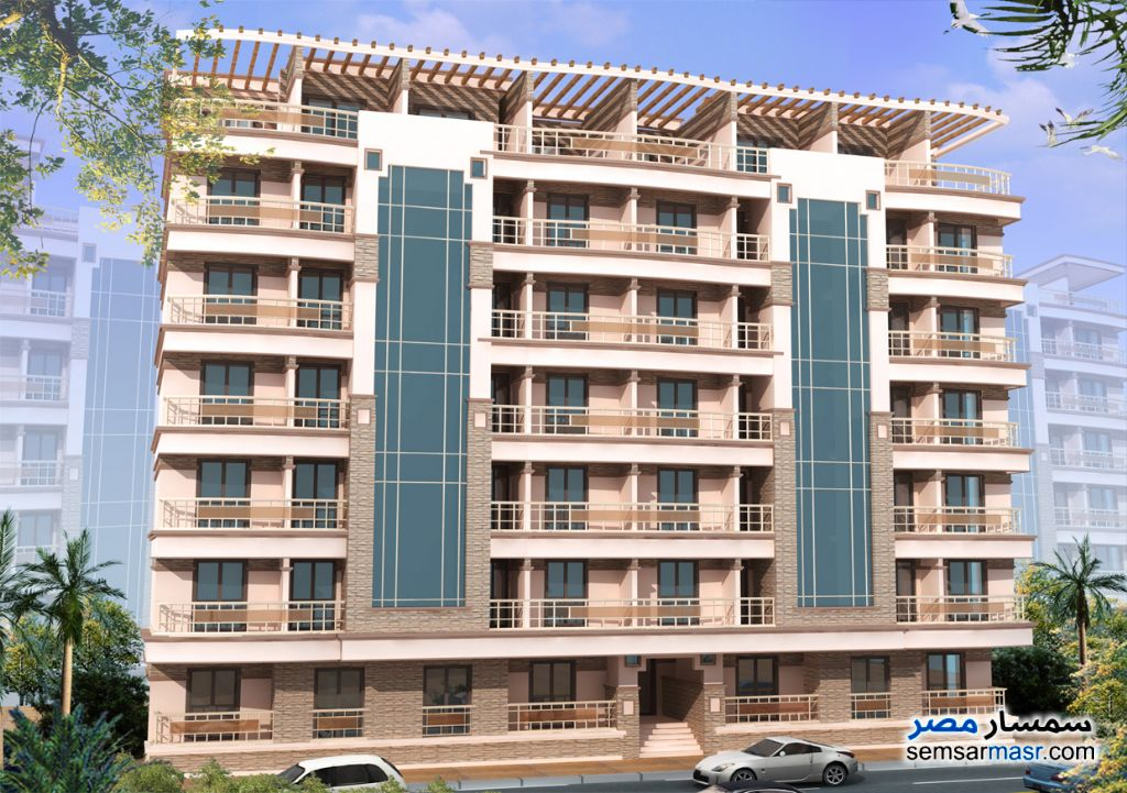 Photo 1 - Apartment 3 bedrooms 2 baths 120 sqm without finish For Sale Shibin El Kom Minufiyah