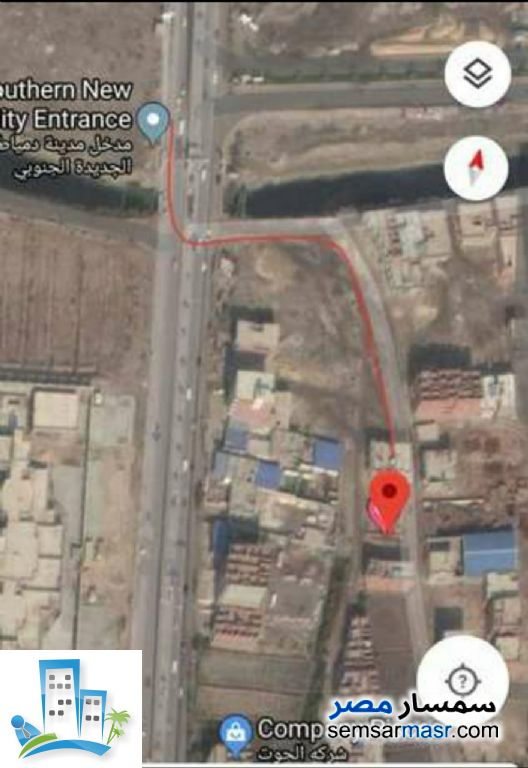 Ad Photo: Land 350 sqm in New Damietta  Damietta
