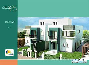 Ad Photo: Villa 3 bedrooms 4 baths 600 sqm semi finished in Madinaty  Cairo