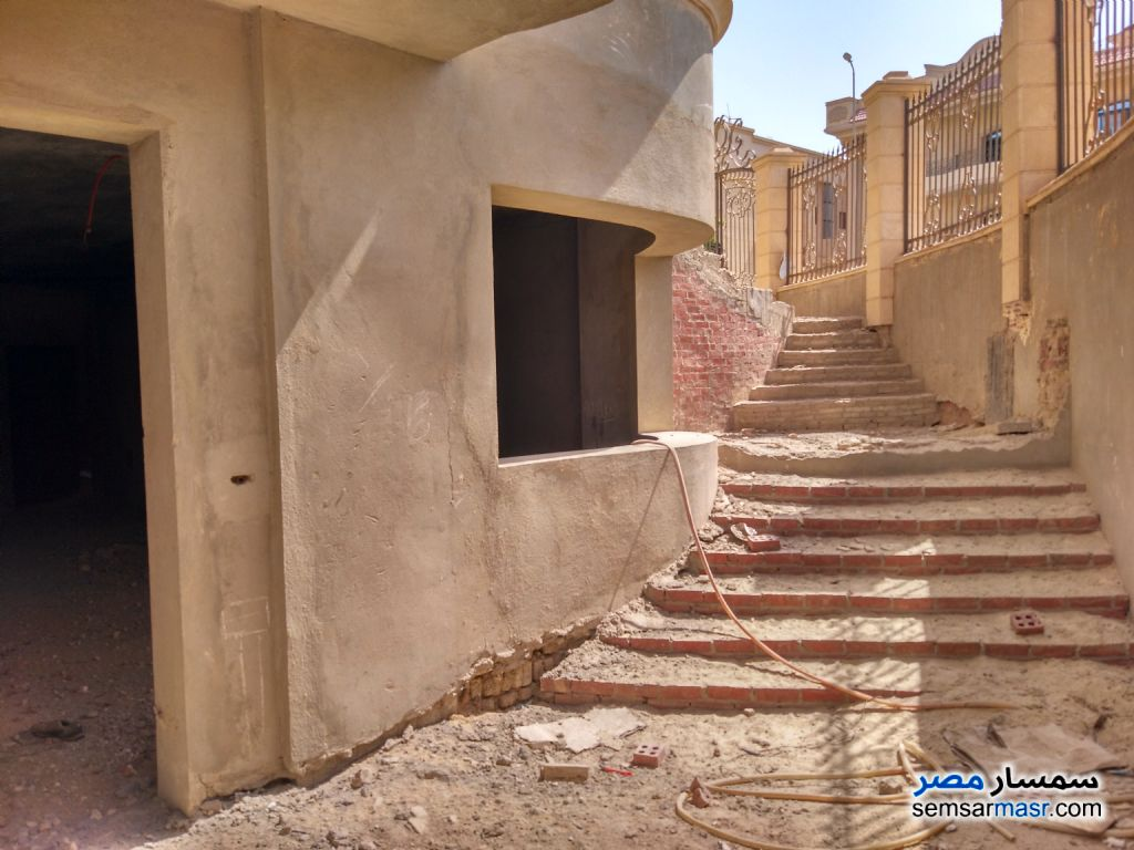 Photo 7 - Villa 12 bedrooms 8 baths 1,400 sqm semi finished For Sale First Settlement Cairo