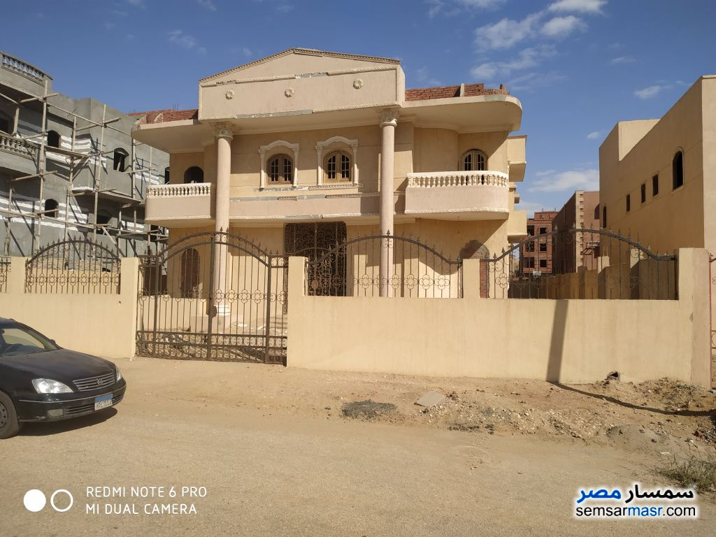 Photo 1 - Villa 6 bedrooms 4 baths 600 sqm semi finished For Sale Badr City Cairo