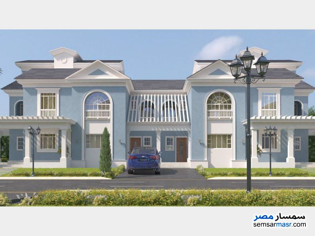 Photo 1 - Villa 3 bedrooms 3 baths 239 sqm semi finished For Sale El Ubour City Qalyubiyah