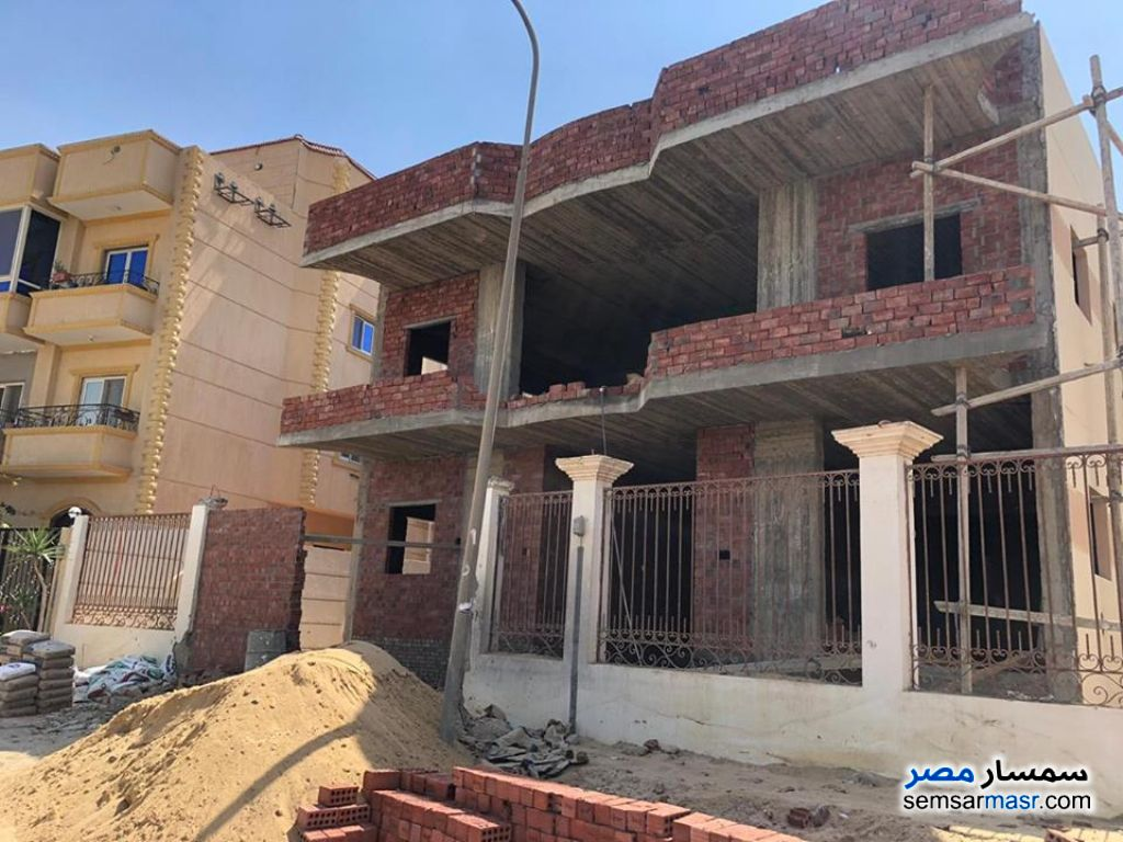 Photo 5 - Villa 10 bedrooms 8 baths 380 sqm semi finished For Sale El Ubour City Qalyubiyah