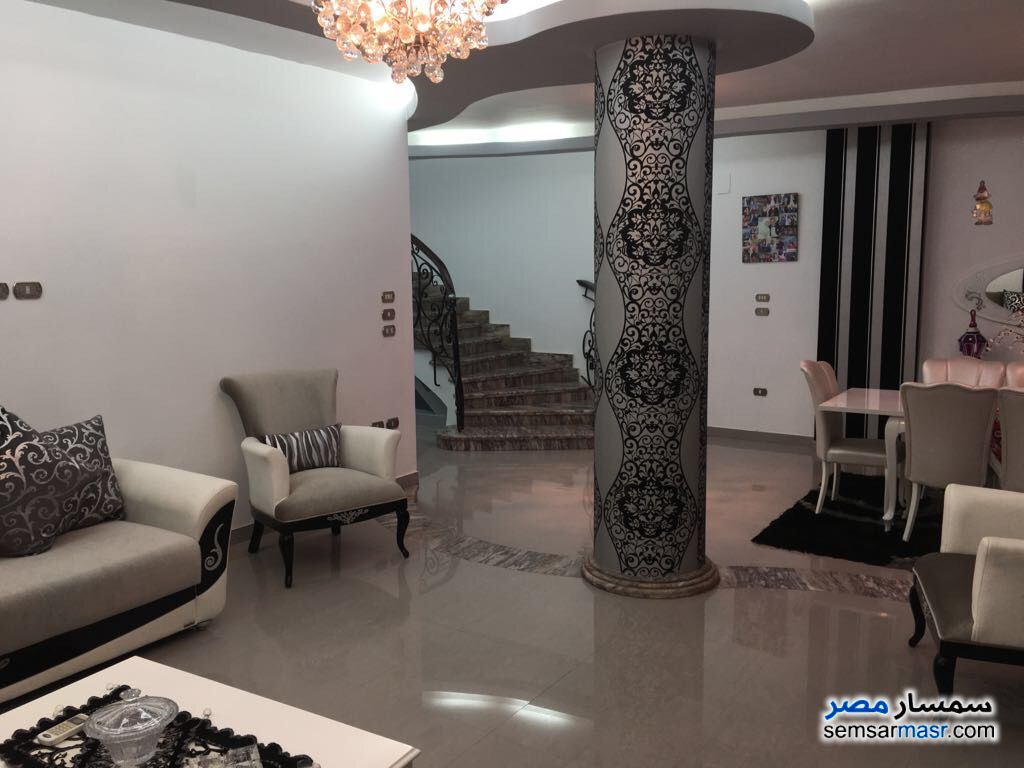 Photo 17 - Villa 20 bedrooms 12 baths 600 sqm extra super lux For Sale First Settlement Cairo