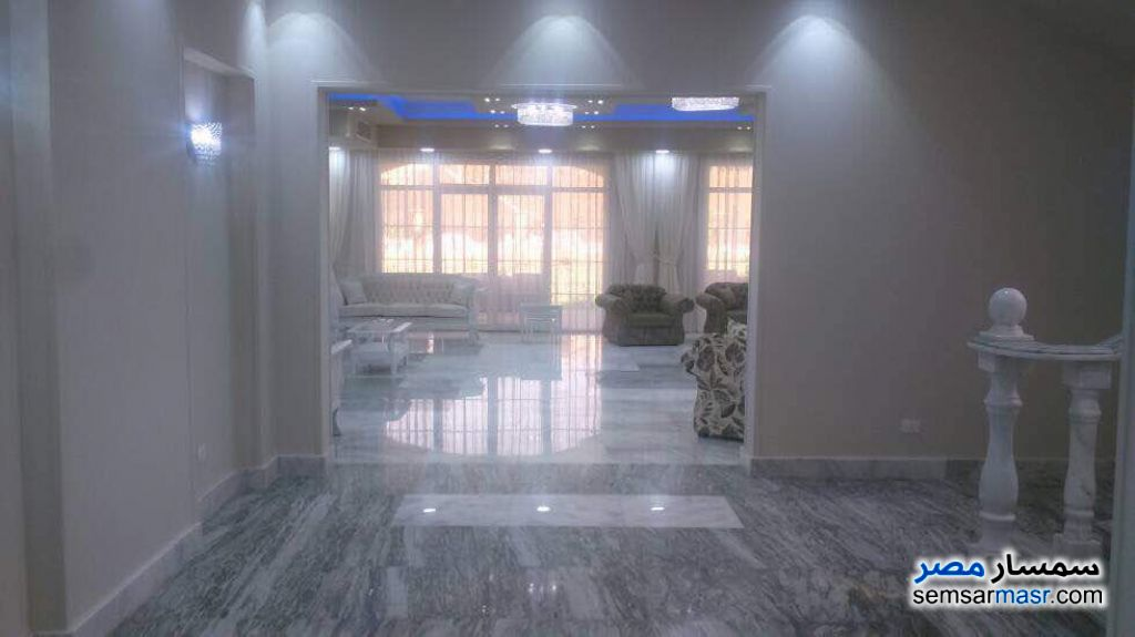 Photo 12 - Villa 5 bedrooms 4 baths 1,300 sqm extra super lux For Sale Fifth Settlement Cairo