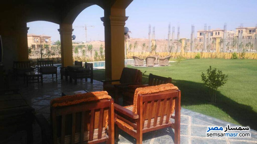 Photo 25 - Villa 5 bedrooms 4 baths 1,300 sqm extra super lux For Sale Fifth Settlement Cairo