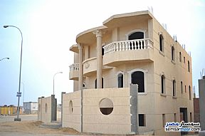 Ad Photo: Villa 7 bedrooms 4 baths 517 sqm semi finished in West Somid  6th of October