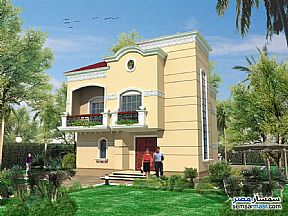 Ad Photo: Villa 4 bedrooms 4 baths 267 sqm extra super lux in Rehab City  Cairo